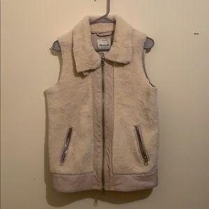 Oyster White Madewell vest
